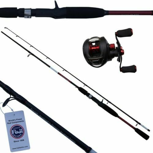 Skorpion Lucia Class Avantegarde Baitcast Combo Set Red Rute+Rolle